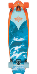 Dusters Kosher Retro Cruiser - Orange/Blue - 33.0in - Complete Skateboard