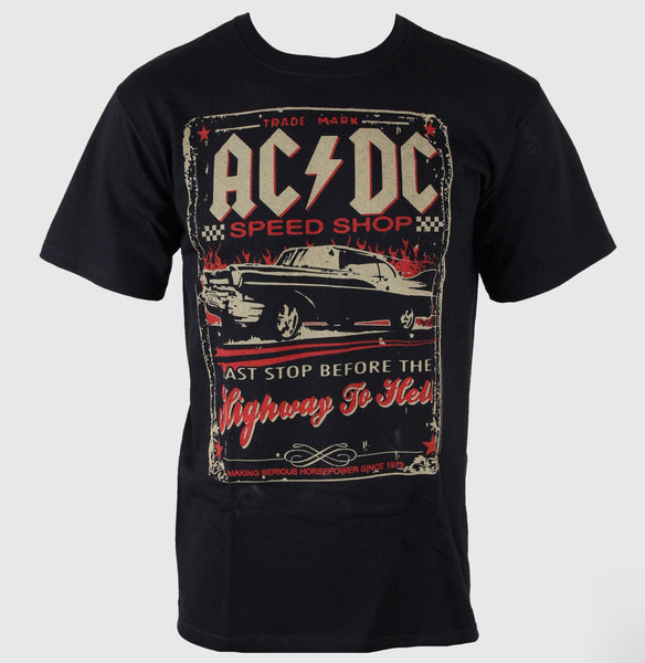ACDC Speedshop - Black - Band T-Shirt
