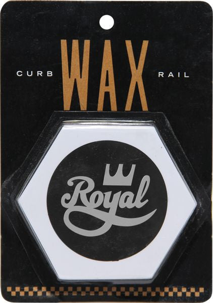 Royal Curb/Rail - White - Skateboard Wax