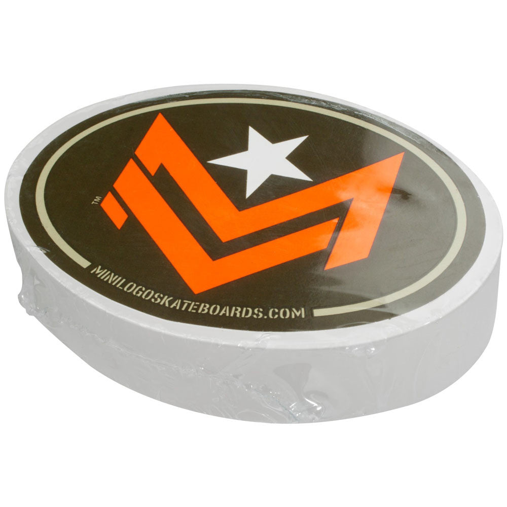 Mini Logo Chevron - White - Skateboard Wax