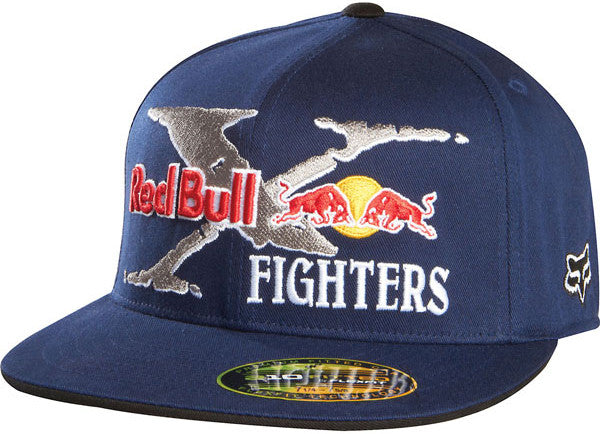 Fox Red Bull X-Fighters Core 210 Hat - Navy - Men's Hat