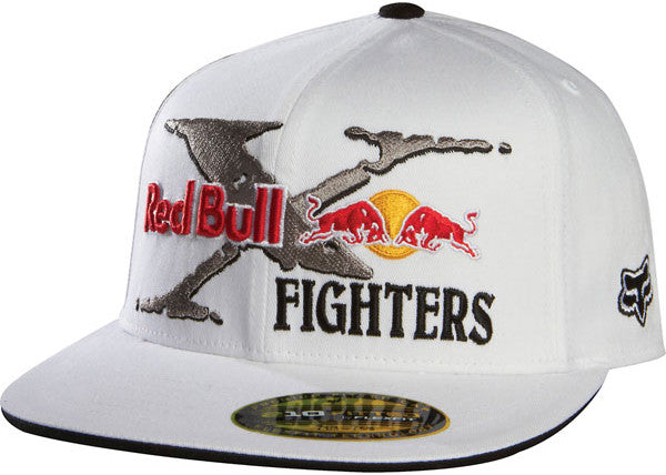 Fox Red Bull X-Fighters Core 210 Hat - White - Men's Hat