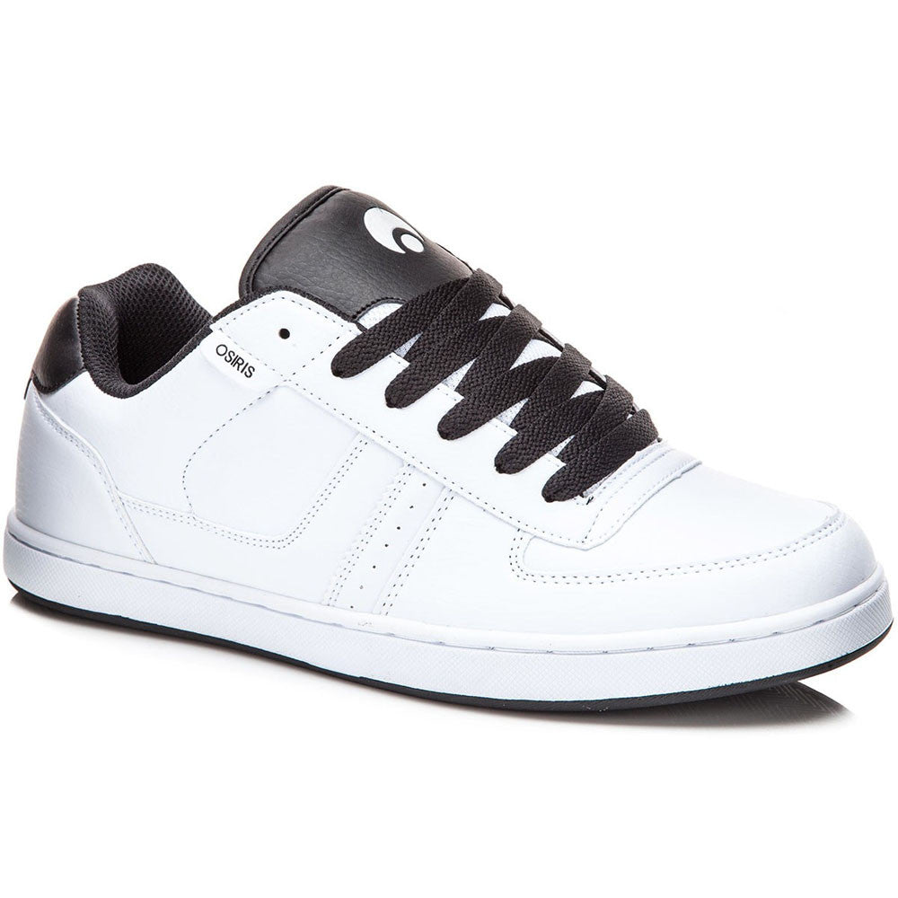 Osiris Relic - White/White - Men's Skateboard Shoes