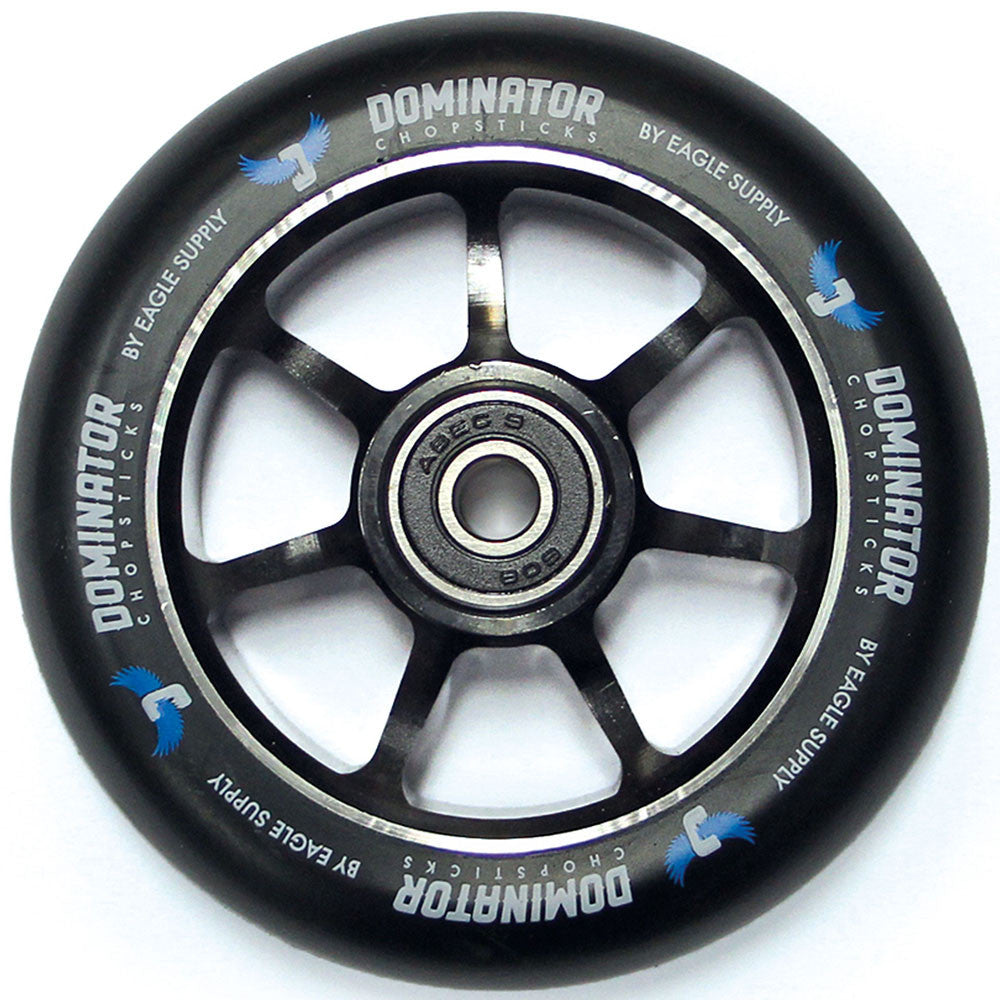 Dominator - 86a 100mm - Black - Scooter Wheels (Set of 2)