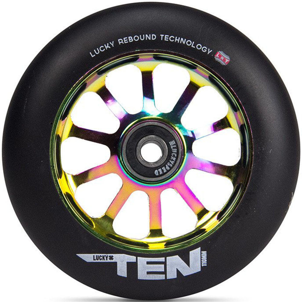 Ten Pro 2017 - 86a 110mm - Neo Chrome/Black - Scooter Wheel