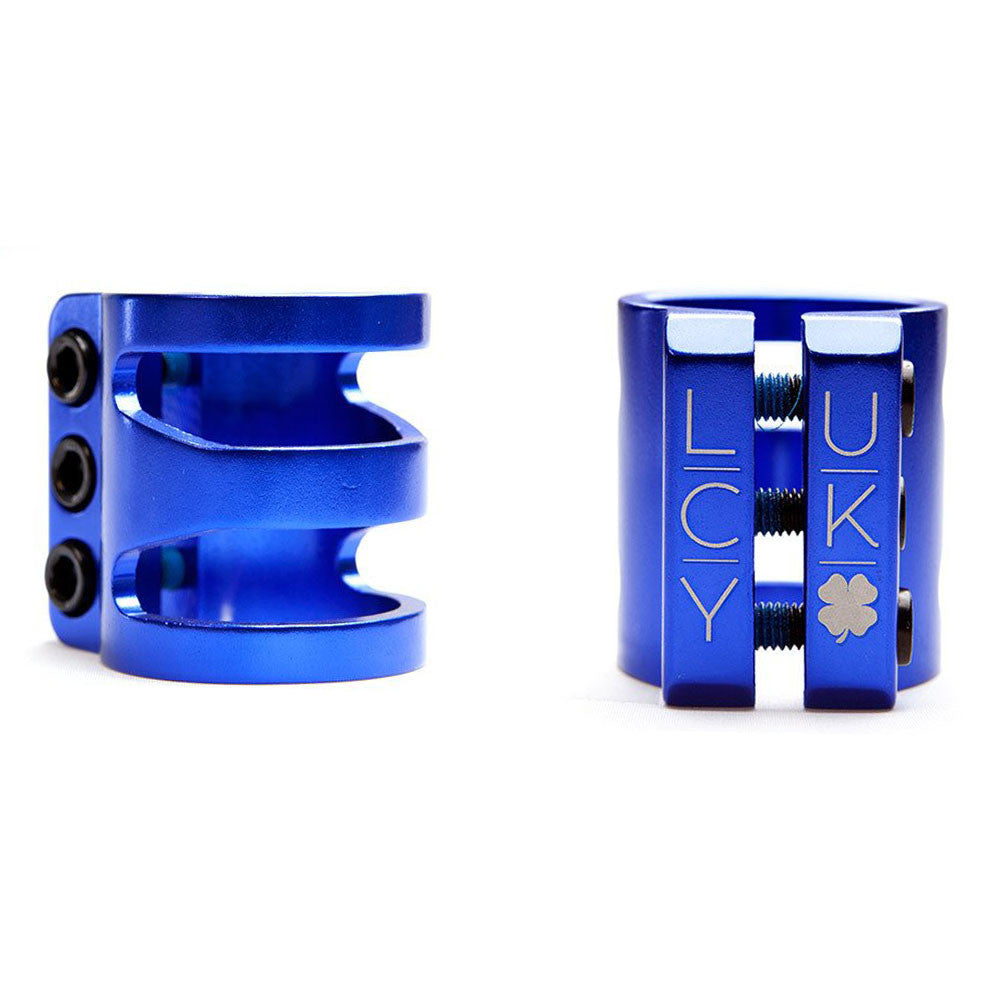 Lucky Tres - Blue - Scooter Clamp