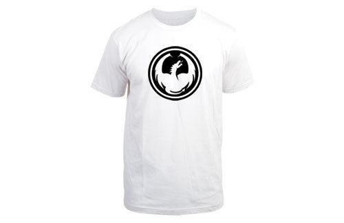 Dragon Icon T-Shirt - White - Mens T-Shirt
