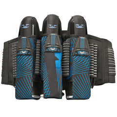 2013 Valken Redemption Paintball Harness 3+6 - Blue Slash