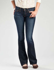 Lucky Sofia Boot Jeans - Blue - Womens Pants