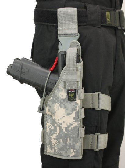 Full Clip Holster Thigh Rig - Right - ACU