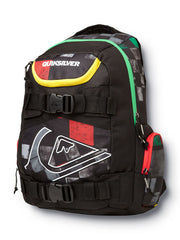Quiksilver Derelict Skate Backpack - Rasta - Backpack