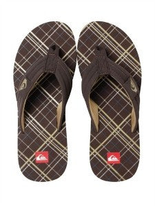 Quiksilver Foundation Sandals - Brown - Mens Sandals