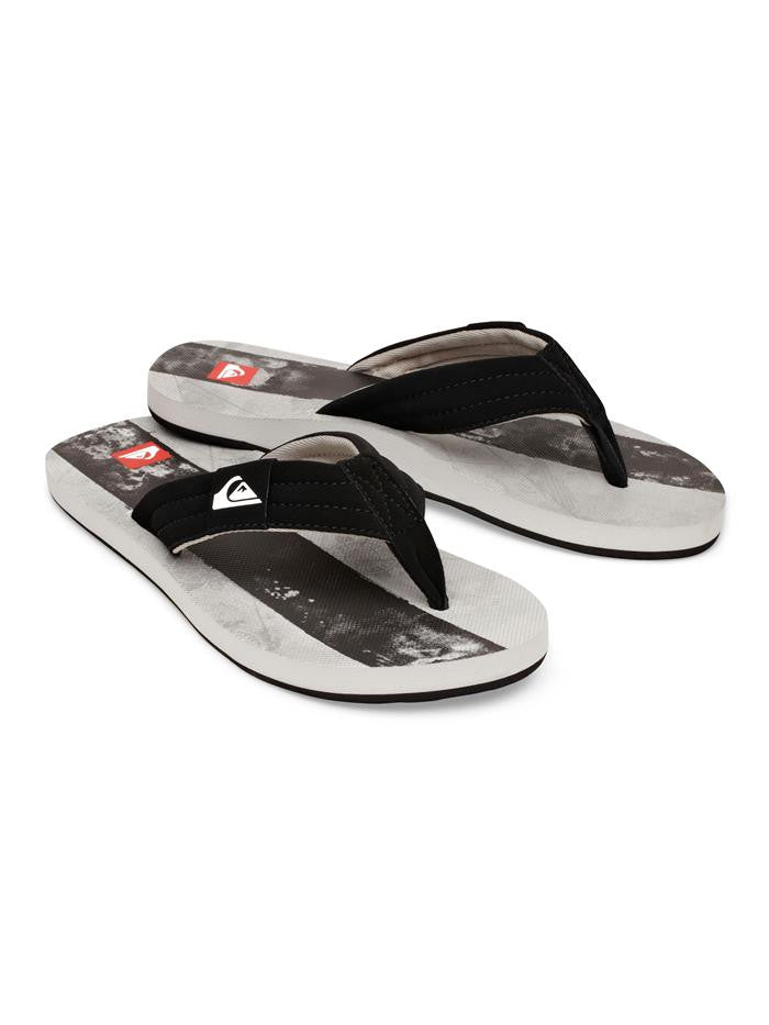 Quiksilver Foundation Sandals - Grey - Mens Sandals