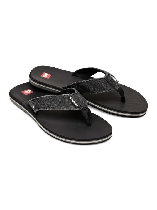 Quiksilver Unfrayed 2 Sandals - Black - Mens Sandals