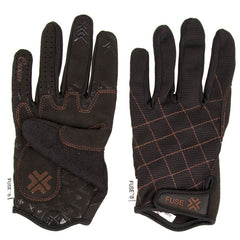 We The People Fuse King Crown - Black - Men's Gloves - X Large