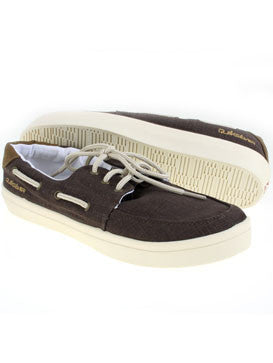 Quiksilver Surfside Shoes - Brown - Mens Skateboard Shoes