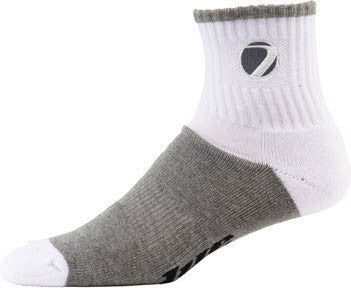 Dye Sport Socks - White/Grey (1 Pair)