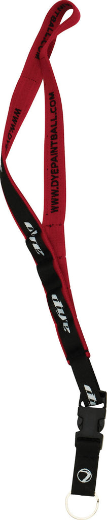 Dye 2009 Stretch Squeegee Lanyard - Red