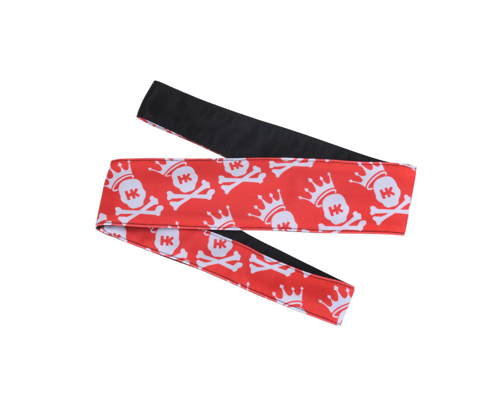 HK Army Headband - King Red