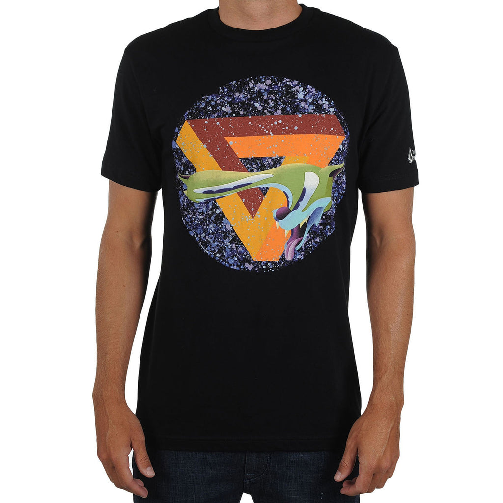 Volcom Anthony Ausgang Tee - Black - Mens T-Shirt