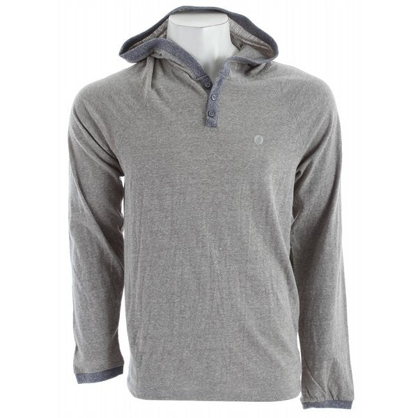 Volcom Rudi Custom Hoodie - Grey - Mens Sweatshirt