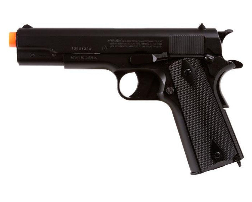 US Army Full Metal DC1911G CO2 Airsoft Handgun - Black