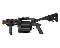 ICS-190 Green Gas Airsoft Grenade Launcher - Black