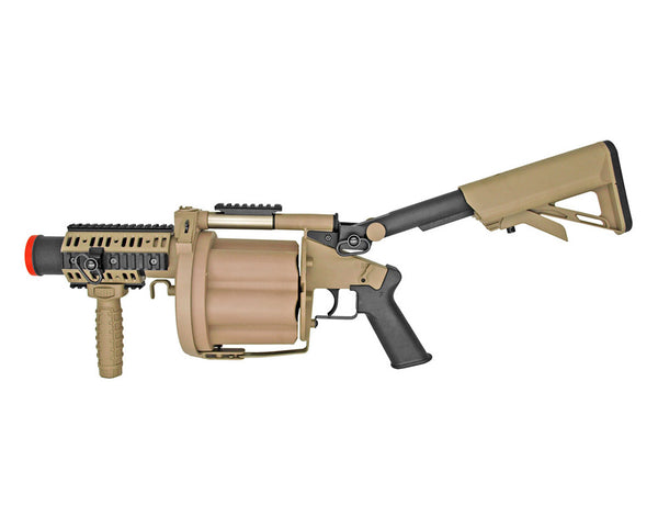 ICS-191 Green Gas Airsoft Grenade Launcher - Tan