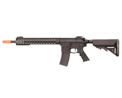 Knight's Armament Nylon Fiber SR-16E3 Carbine Mod2 AEG Airsoft Gun - Black (JP-94)