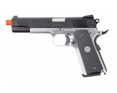 Socom Gear Full Metal NOVAK Next 1911 Gas Blow Back Airsoft Pistol - Two Tone
