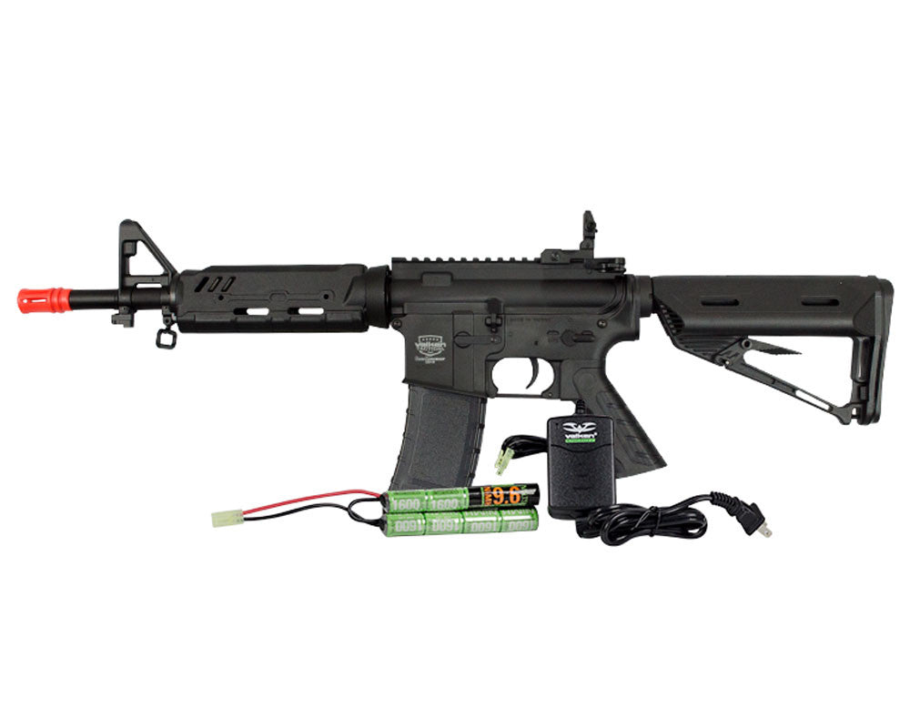 Valken Tactical Battle Machine Mod-EC AEG Airsoft Gun Package Kit - Black