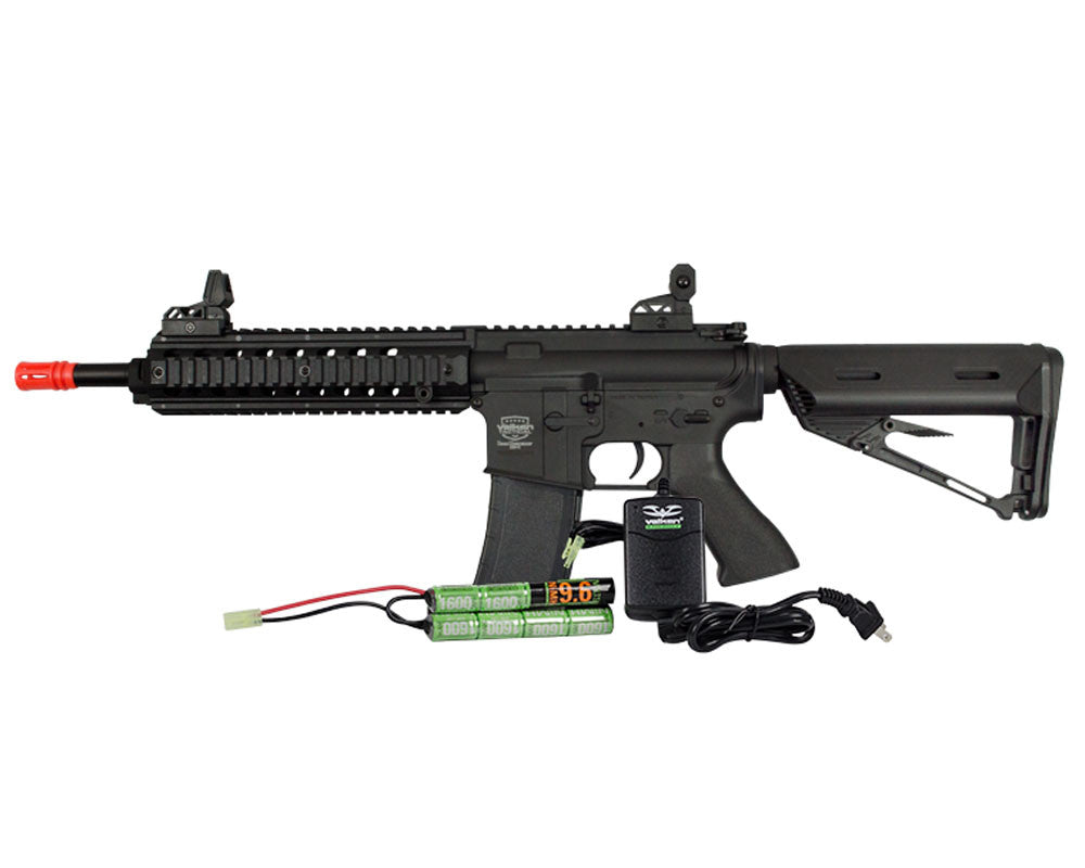 Valken Tactical Battle Machine Mod-M AEG Airsoft Gun Package Kit - Black