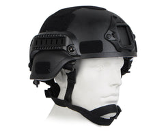 High Speed Tactical Airsoft Helmet - Black