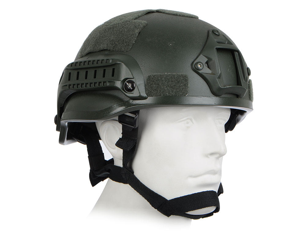 High Speed Tactical Airsoft Helmet - OD Green