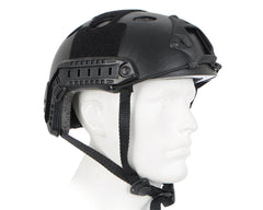 Raptors Lightweight Airsoft Helmet - Black