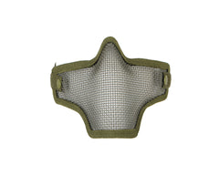 1G Strike Steel Half Airsoft Mask - Olive Drab