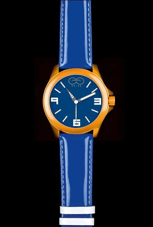 Eleven Eleven AMS1102 - Orange - Mens Watch