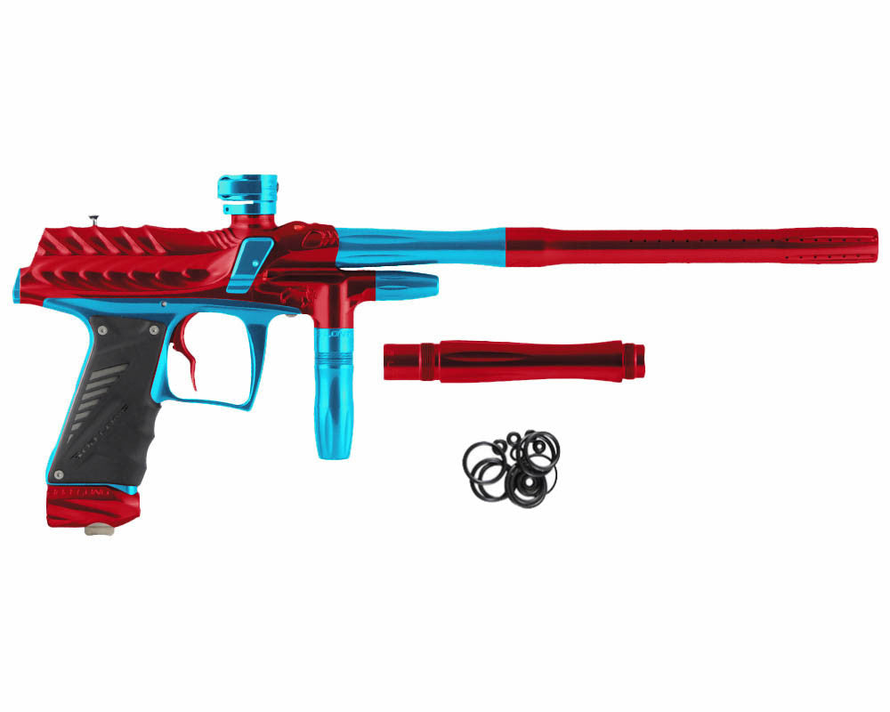 Bob Long Dragon G6R Intimidator - Polished Red/Polished Teal