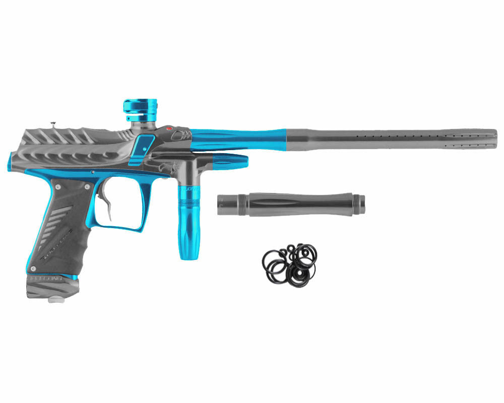 Bob Long Dragon G6R Intimidator - Polished Titanium/Polished Teal