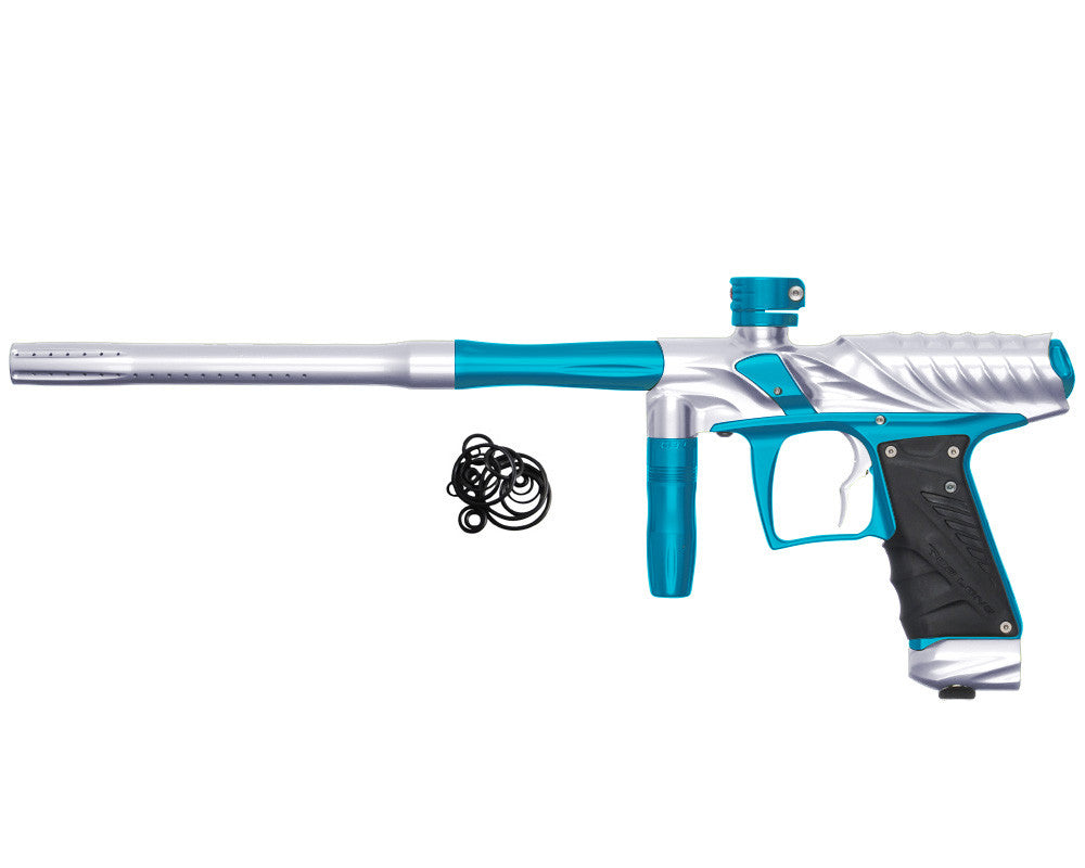 Bob Long Insight NG Paintball Gun - Silver/Teal