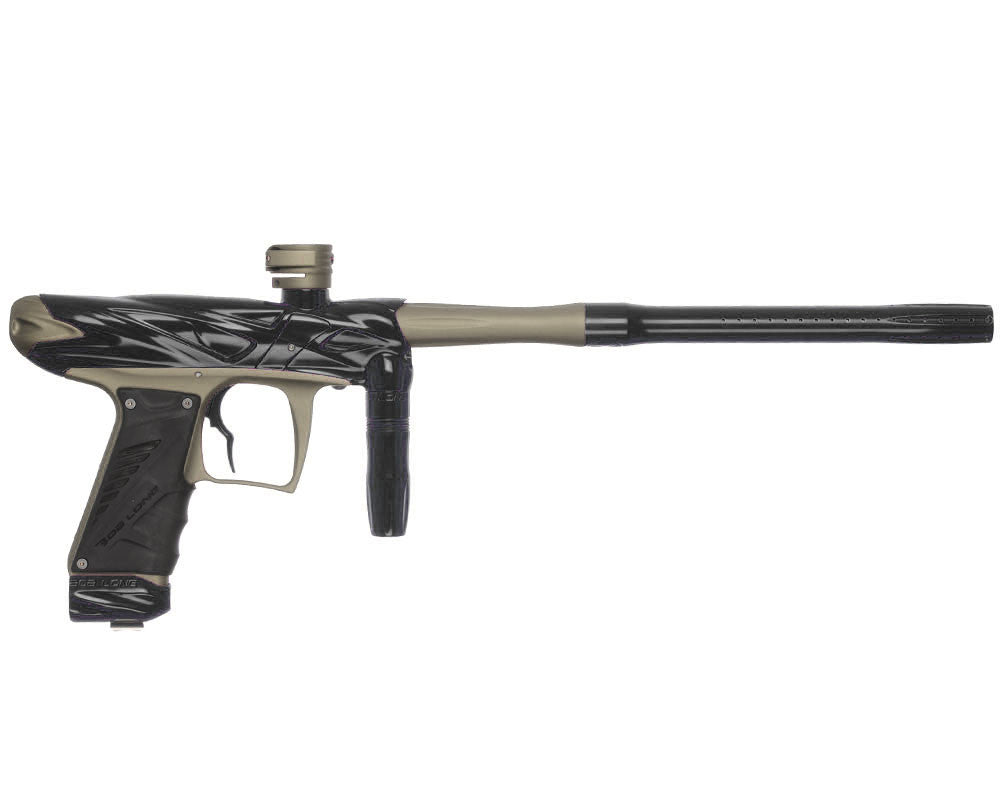 Bob Long Onslaught Paintball Gun - Black/Dust Khaki