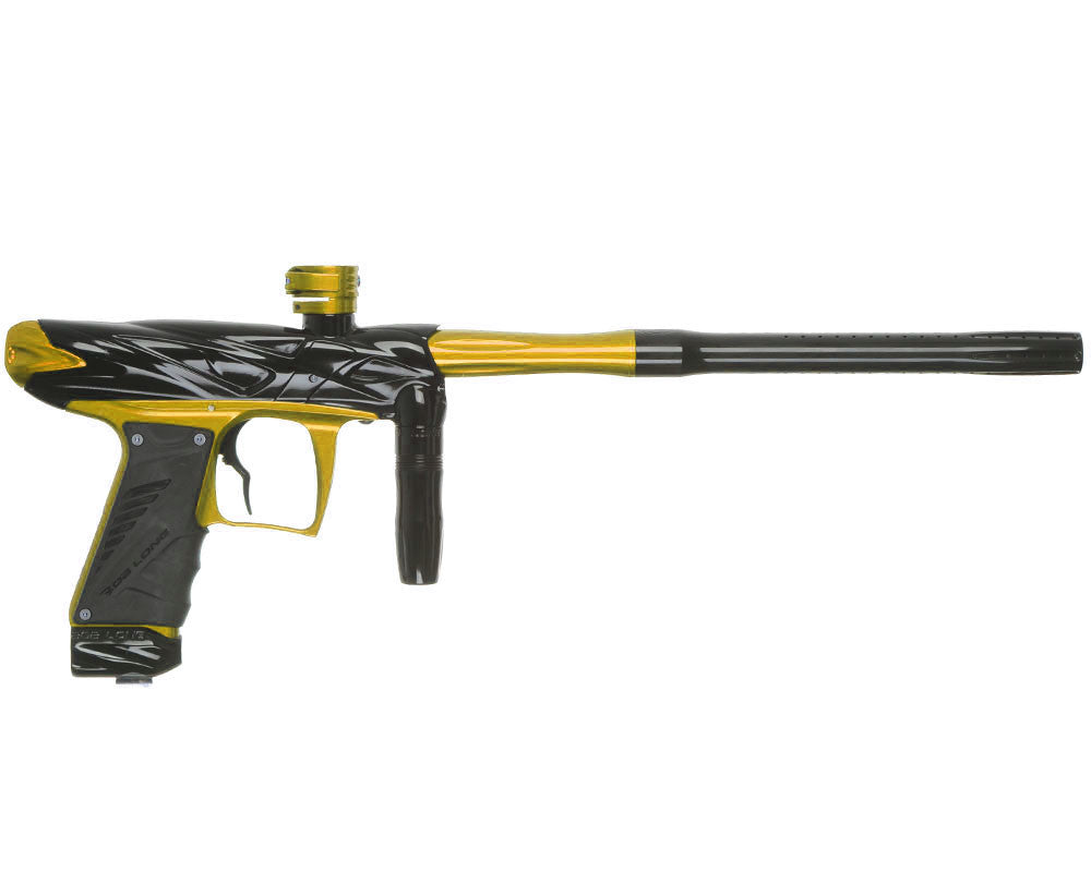 Bob Long Onslaught Paintball Gun - Black/Gold