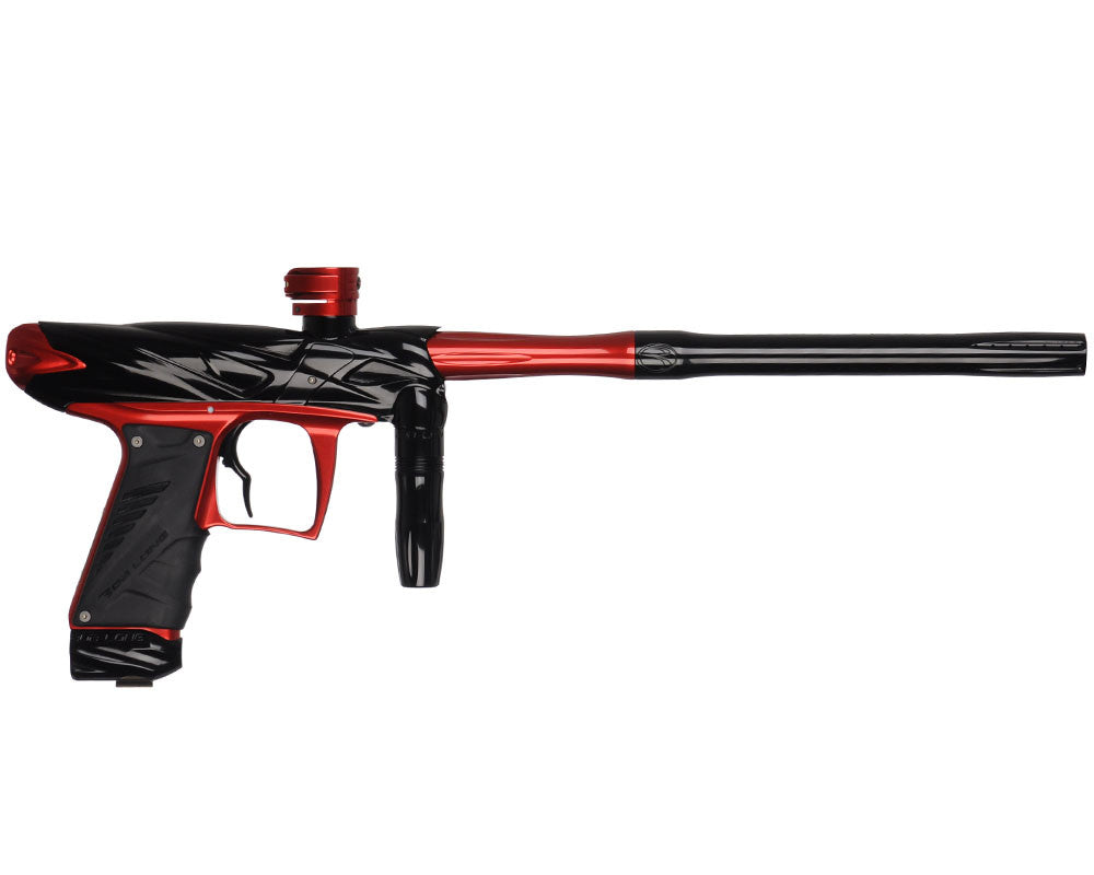 Bob Long Onslaught Paintball Gun - Black/Red