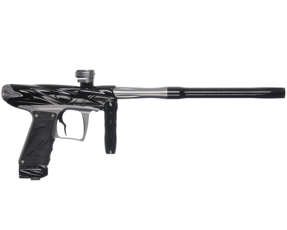 Bob Long Onslaught Paintball Gun - Black/Titanium