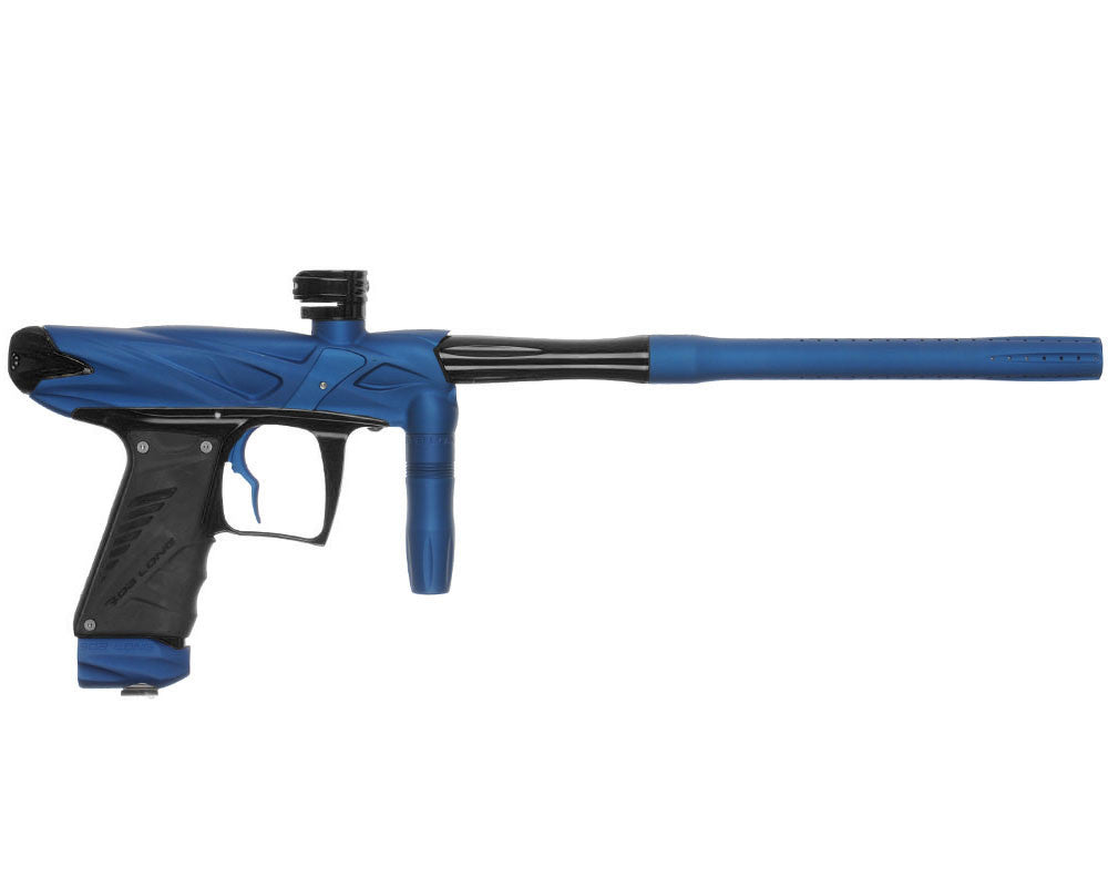Bob Long Onslaught Paintball Gun - Dust Blue/Black