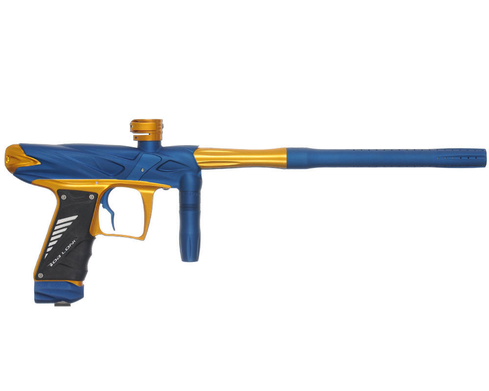 Bob Long Onslaught Paintball Gun - Dust Blue/Gold