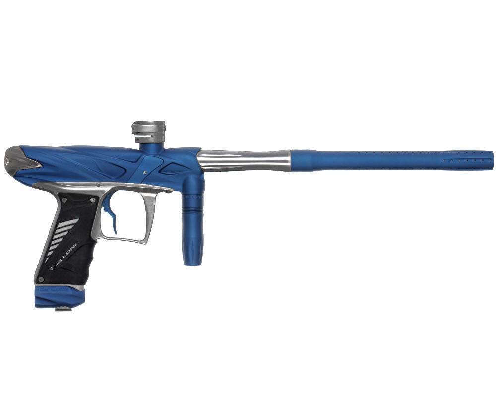 Bob Long Onslaught Paintball Gun - Dust Blue/Titanium