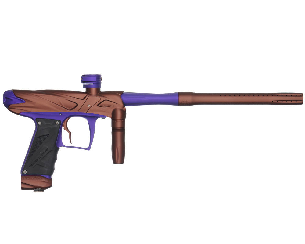 Bob Long Onslaught Paintball Gun - Dust Brown/Dust Violet
