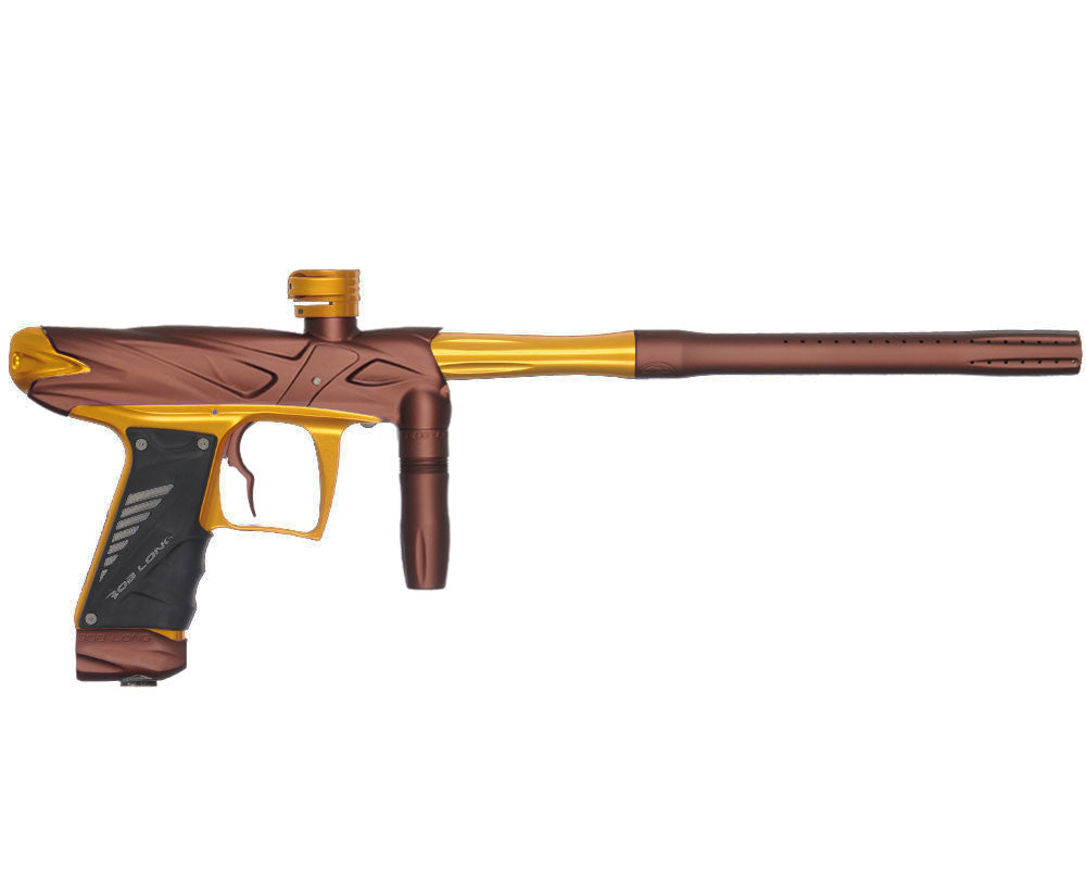 Bob Long Onslaught Paintball Gun - Dust Brown/Gold