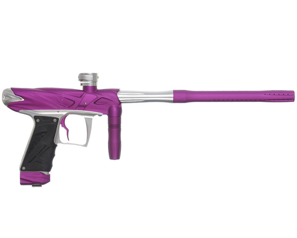 Bob Long Onslaught Paintball Gun - Dust Purple/Silver